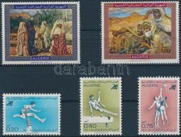 1969-1971 Festmények és sport 2 klf sor Mi 537-538,566-568