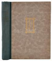 Vándor Kálmán: Mea maxima culpa. Bp., é.n., Pantheon. 269 p. Első kiadás! A szerző által dedikált példány! Kiadói, aranyozott félvászonkötésben.