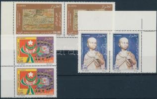 2002 Sport 1 db bélyeg és 1db sor párokban Mi 1354-1355, 1359