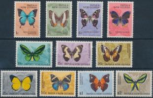 Butterflies set ((Mi 88 missing), Lepkék sor (Mi 88 hiányzik)