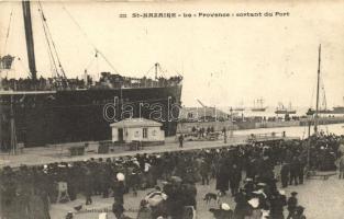 Saint-Nazaire, steamship La Provence