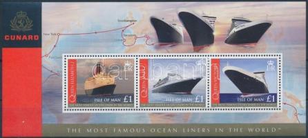 2008 Óceánjáró utasszállító hajók blokk Mi 62