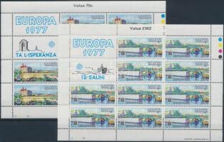 1977 Europa CEPT kisív sor Mi 554-555