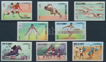 1972 Nyári olimpia sor Mi 543-550