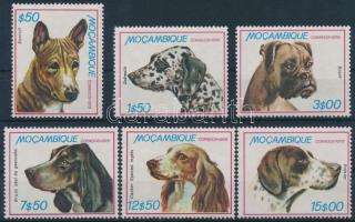 Dogs set + 2 FDC, Kutya sor + 2 FDC