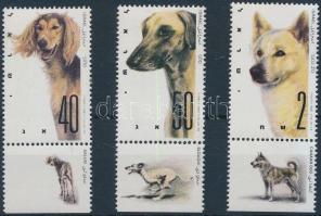 Kutyakiállítás tabos sor, Dog Show set with tab