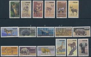 1980 Állatok sor Mi 476-492 x