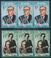 1968 Charles Robberts Swart sor hármascsíkokban Mi 350-355