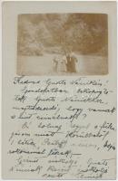1903 Ismeretlen kirándulóhely Kassa környékén, csoportkép / unkown hiking location, hikers, photo (EK)