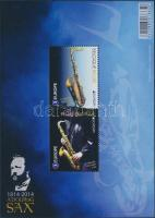 Europa CEPT, musical instruments block, Europa CEPT, hangszerek blokk