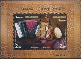 2014 Europa CEPT, hangszerek blokk Mi 50
