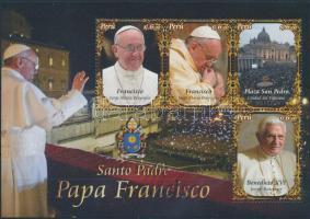 Ferenc pápa blokk, Pope Francis block