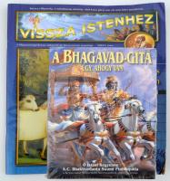 Bhaktivedanta, A. C.: A Bhagavad-Gitá, úgy, ahogy van. h. n., 2001, The Bhaktivedanta Book Trust. Papírkötésben, bontatlan csomagolásban, jó állapotban. + Vissza Istenhez magazin 2004/3. lapszáma
