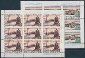 125th anniversary of the European Danube Commission mini sheet set, 125 éves az Európai Duna Bizottság kisívsor