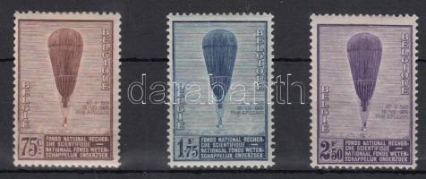 1932 Országos Tudományos Kutatási Alap sor Mi 344-346