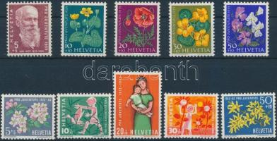 1959-1962 Pro Juventute 2  sets, 1959-1962 Pro Juventute 2 klf sor