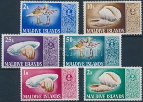 1968 Tengeri csigák és kagylók sor Mi 289-294