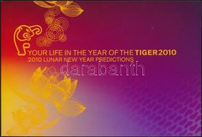 Chinese New Year: Year of the Tiger stamp-booklet, Kínai újév: Tigris éve bélyegfüzet