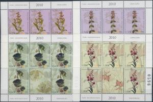 2010 Hazai növények kisív Mi 229-232