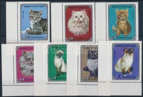 1979 Macskák ívsarki sor Mi 1201-1207