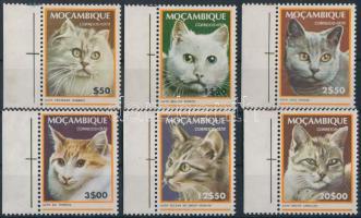 1979 Macskák ívszéli sor Mi 681-686