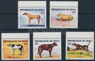 1979 Kutyák ívszéli sor Mi 728-732