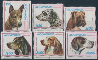 1979 Kutyák sor Mi 725-730