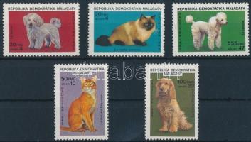 1985 Kutyák és macskák sor Mi 976-980