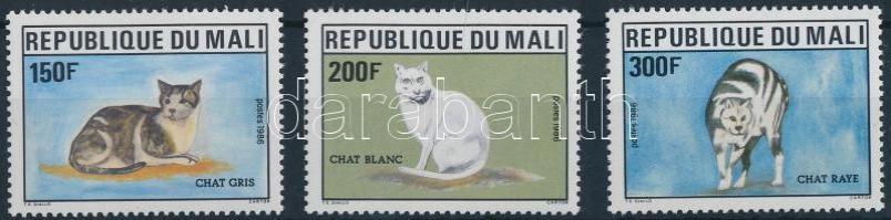 1986 Macskák sor Mi 1058-1060