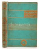 Jakob Wassermann: Bula Matari (Stanley élete). Kalandos utazások. Ford.: Benedek Marcellné. Bp. 1933. Dante. 213 p. 10 t. Kiadói kopottas, aranyozott egészvászon-kötésben.