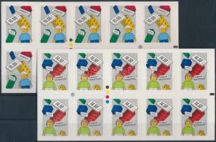 Europa CEPT, Historical games self-adhesive mini sheet set, Europa CEPT, történelmi játékok öntapadós kisív sor
