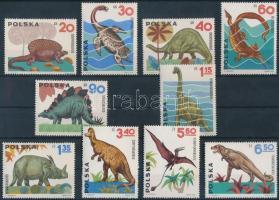 Dinosaurs set, Dinoszauruszok sor