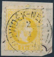 """(UJ)-VIDÉK-NE(USATZ)"" Austria-Hungary-Serbia postmark ""(UJ)-VIDÉK-NE(USATZ)"""