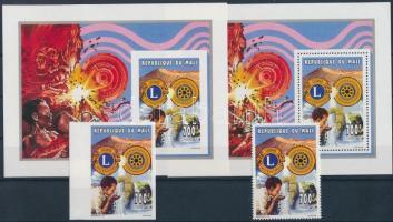 1995 Rotary fogazott és vágott bélyeg Mi 1341 A + B + fogazott és vágott bélyeg blokk E 68 A + B + Mi 1341 A FDC