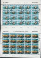 1982 Europa CEPT: Történelmi események 2 klf kisív Mi 246-247