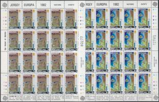 1982 Europa CEPT: Történelmi események kisív sor Mi 278-281