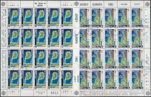 1982 Europa CEPT: Történelmi események kisív sor Mi 280-281