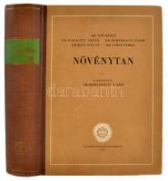Növénytan. Szerkesztette: Dr. Hortobágyi Tibor. Bp., 1962, Tankönyvkiadó. Kiadói félvászonkötésben.