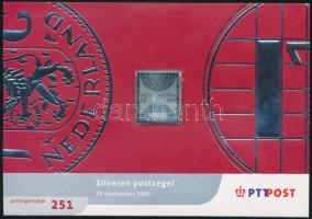 End guilder silver coinage stamp, A gulden pénzrendszer vége ezüst bélyeg