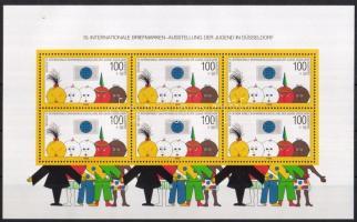 1990 10. Nemzetközi Ifjúsági Bélyegkiállítás Mi blokk 21