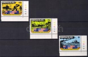 1991 A csendes óceáni hadviselés Mi 516-518