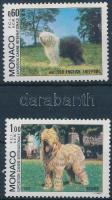 1982 Nemzetközi kutyakiállítás sor Mi 1533-1534