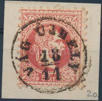 """VÁG ÚJHELY"" Austria-Hungary-Slovakia postmark ""VÁG ÚJHELY"""