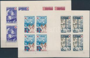 1971-1974 Red Cross 2 stamp-booklets, 1971-1974 Vöröskereszt 2 klf bélyegfüzet