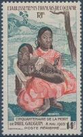 Gauguin halálának 50. évfordulója Gauguin's 50th death anniversary