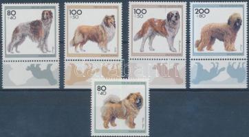 1996 Kutyák sor Mi 1836-1840