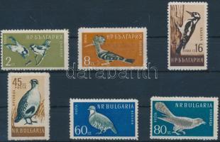 1959 Madár sor Mi 1116-1121