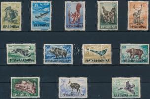1956 Állatok sor Mi 1565-1576