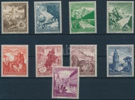 1938 Téli segély: tájak és virágok sor Mi 675-683