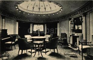 Damensalon / Ladies saloon, ship interior